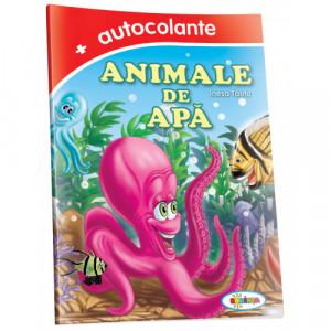 Animale de apă + autocolante