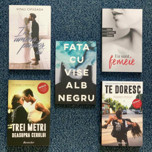 Noul Pachet Promoțional: Setul de 5 cărți Bestseller