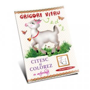 Grigore Vieru - Iedul. Citesc și colorez.