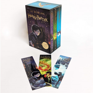 Harry Potter 1-3 Box Set: A Magical Adventure Begins
