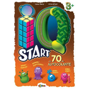 IQ start 3+ (70 autocolante)