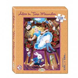 Puzzle Alice în Țara Minunilor 120ps