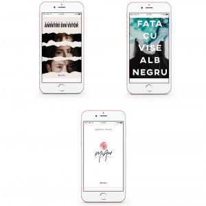 """Pachet Promoțional """"Amintiri din Viitor"""", """"Fata cu vise alb-negru"""" și """"MoArt"""" [Cărți electronice]"""