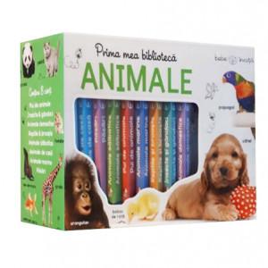 Prima Mea Bibliotecă Ilustrată. Animale (0+)