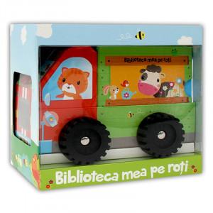 Biblioteca Mea pe Roți. La Fermă. Jucăriile. Corpul Meu. La Drum