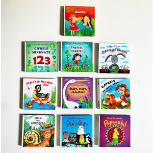 Să Crești Mare!  Colecția de 10 cărțulii cu Poezii pentru Copii