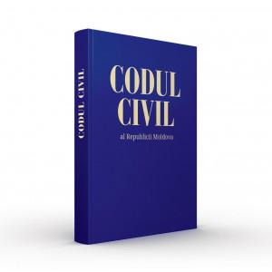 Codul civil al Republicii Moldova(Copertă Tare) 01.01.20