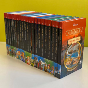 Colecția Completă de 21 cărți Mari Clasici Ilustrați. Supercolecția Ta!