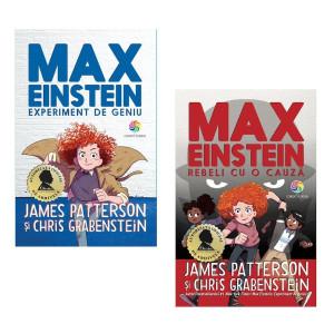 """Pachet Promoțional """"Max Einstein Vol 1+ Vol 2"""""""