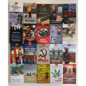 """Colecția 20 de cărți Non-ficțiune """"Personalități istorice, puteri globale și geopolitică"""""""