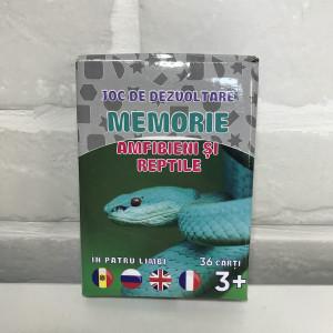 Joc de memorie. Amfibieni și reptile
