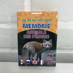 Joc de memorie. Animale din pădure