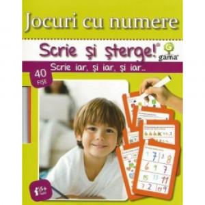 Scrie și Șterge! Jocuri cu numere