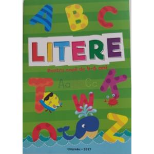 Litere Pentru copii de 4-6 ani
