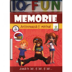 Memorie. Antrenează-ți Mintea! 5 ani +