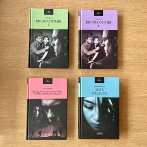 """Pachet Promoțional """"Enigma Otiliei Vol 1+ Vol 2"""", """"Mite Bălăuca"""" și """"Ultima noapte de dragoste, întâia noapte de război"""""""