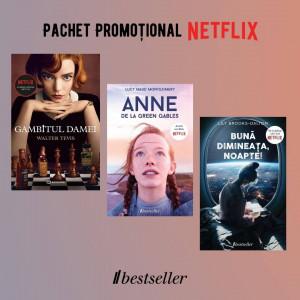 Pachet Promoțional Netflix: Gambitul Damei, Bună dimineața noapte și Anne de la Green Gables