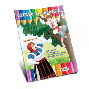 Citesc și colorez - Amintiri din copilărie